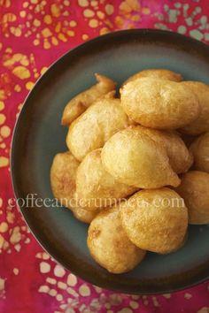 Luqaimat | Arabic Doughnuts with Orange Blossom Syrup |@coffeecrumpets