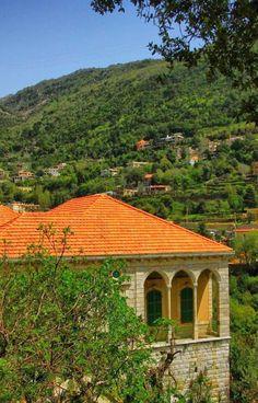 Lebanon ❤️❤️❤️ I love the traditional Lebanese houses.