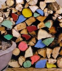 Coloured logs