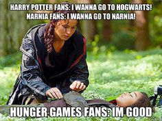 The last one is so true!! Love these!! For all you Hunger Games fans!!