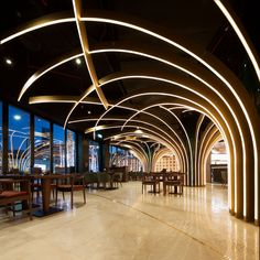 Karamna Alkhaleej (Dubai, United Arab Emirates), Lighting | Restaurant & Bar Design Awards