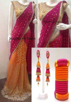 Silk thread bangle (9)