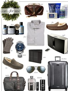 Gifts for the man or men in your life for Winter 2014.... This list is really good & I'm getting 3-5 things off it this season.