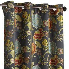 Vibrant Paisley Grommet Top Curtain 54x84 Quot Pier One