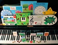 Piano Discoveries website; creative resources for piano lessons  @Kelly Mayberry