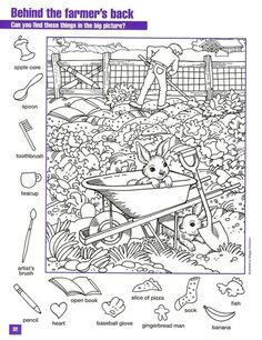 6 Worksheets Play I Spy On the Farm I Spy Hidden Objects Worksheet √ Worksheets Play I Spy On the Farm . 6 Worksheets Play I Spy On the Farm . Farm Word Search Easy Worksheets in Colouring Pages, Coloring Books, Puzzle Photo, Highlights Hidden Pictures, Hidden Pictures Printables, Hidden Picture Puzzles, Hidden Objects, Find Objects, Activity Sheets