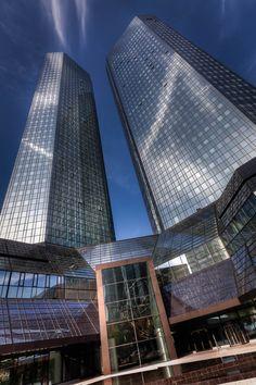 Deutsche Bank Zentrale, Frankfurt, Germany