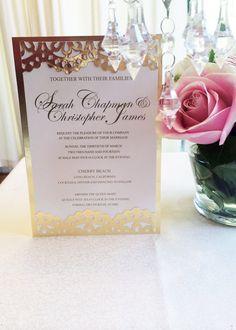 Gold Wedding Invitation Set  Luxurious Gold by PlatinumShoppette, $6.37