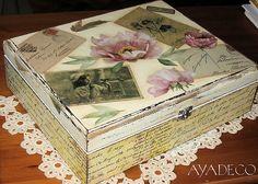 decoupage box...