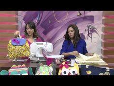 Mulher.com 09/10/2014 Llia Pavan - Mochila infantil de tecido Parte 1/2 - YouTube