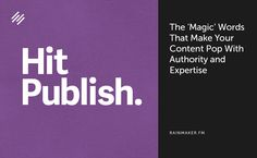 The 'Magic' Words that Make Your Media Content Pop with Authority and Expertise - http://feeds.copyblogger.com/~/106071010/0/copyblogger~The-Magic-Words-that-Make-Your-Media-Content-Pop-with-Authority-and-Expertise?utm_source=rss&utm_medium=Friendly Connect&utm_campaign=RSS
