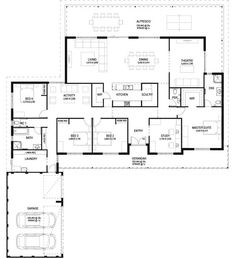 Floor Plan Friday: Big traditional country house