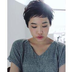 ✨ nanuk short style ✨ .  hair / @sano_nanuk  make / @aiaiaiai725 .  #nanukhair #nanuksano #aimake #shorthair
