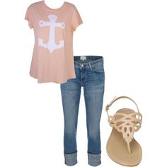 Super cute spring outfit!