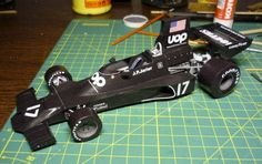 F1 Paper Model - 1974 Monaco GP Shadow DN3 Ford Paper Car Free Template Download