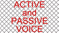 ACTIVE and PASSIVE VOICE (C1 level) with exercises