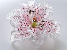 цветы из бисера by sophie