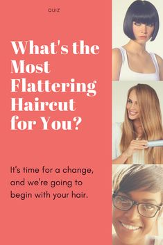 What's the Most Flattering Haircut for You? Guess what, it's time for a change, and we're going to begin with your hair. Take this quiz to find out which of these haircuts would look great on you! Medium Shag Haircuts, Cool Haircuts, Cool Hairstyles, Short Hair Cuts, Short Hair Styles, Natural Hair Styles, Cut My Hair, Your Hair, Tips