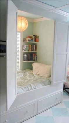 I wouldn't want this to be my actual bed but it's a nice space to go and hide out.