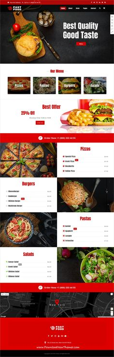 Xtra is clean and modern design responsive multipurpose #WordPress theme for delicious #food #restaurant and #cafes website with 30+ niche homepage layouts to download & live preview click on image or Visit