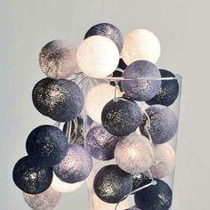 Cottonball Lights lichtsnoer Monochrome