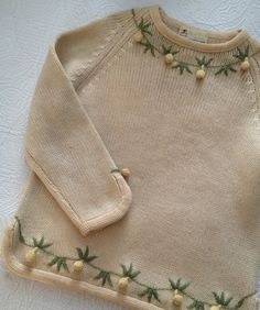 Vintage 50s Wool Sweater by Campus Casuals by BarbeeVintage, $34.00
