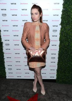 Zoe Lister Jones attends the Vanity Fair And Juicy Couture Celebration Of The 2013 Vanities Calendar With Olivia Munn at Chateau Marmont on February 18, 2013 in Los Angeles, California.