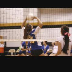 Volleyball hands