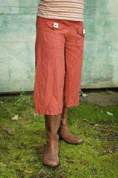 Inventory Sale  Hemp Bliss Pants  3/4 length by IntertwinedDesigns