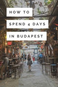 If you're wondering if 3 or 4 days in Budapest is enough, trust me when I say that won't even do the city justice. By the end of my trip, Budapest was up there with my favourite cities in the world! There's so much character to the city and so much to d Europe Travel Tips, European Travel, Travel Guides, Travel Hacks, Voyage Hawaii, Destinations D'europe, Budapest Travel, Hungary Travel, Eurotrip