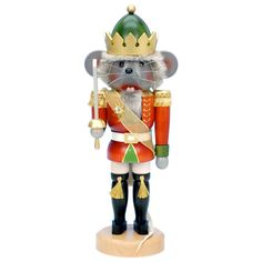 Ulbricht Traditional Mouse King Nutcracker - 32-534