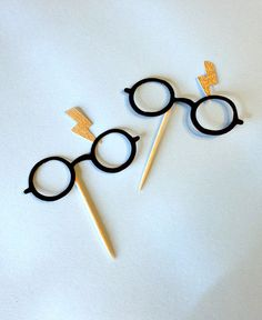 Harry Potter Inspired Cupcake Toppers Harry Potter by ggparties