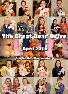 Want to help a hurting child in 2016? We are looking for participants to help collect stuffed animals for our 3rd annual Great Teddy Bear Drive this April. It's an easy, yet meaningful #service opportunity for an office, school, church, sports team, or mom's group! Click the pic for more information on how you can help! #sexual #abuse #awareness #charity #donations