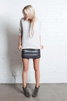 TRIBAL BEADED MINI