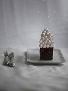 9. Dezember: Maronen-Kuchen mit Schneehaube