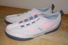 Giro Mesa G 23029w skate style suede shoes sand salmon US 11 women Eu 42.5 #Giro #SkateShoes