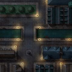 Afternoon Maps is creating RPG and DnD battlemaps Fantasy Map Making, Apocalypse, Shadowrun Rpg, Theatrical Scenery, Pixel Art Background, Building Map, Rpg Map, Map Maker, Dungeon Maps