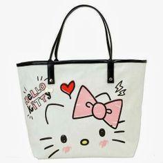 Hello Kitty Betsey Johnson Styled Tote Bag