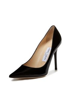 Abel Patent Pointed Toe Pump from Black Shoes Feat. Gucci on Gilt Pointed Toe Pumps, Diane Von Furstenberg, Sheath Dress, Jimmy Choo, Black Shoes, Product Launch, Shoes Heels, Footwear, Luxury