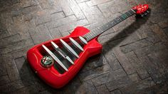 An Alfa Romeo-inspired guitar is the best guitar