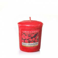 Sweet Strawberry : Samplers® Votives : Yankee Candle