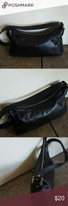 "Francesco Biasia Shoulder Bag Soft Italian leather with silver hardware.  Measures 12 x 6 x 2 with a 12"" strap drop.  EUC Francesco Biasia Bags Shoulder Bags"