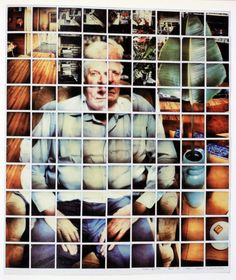 DAVID HOCKNEY compositive polaroids | LUZ BRANCA