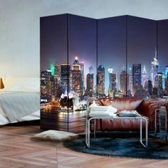 Decoration Originale, Loft, Divider, Ceiling Lights, Bed, Furniture, Home Decor, Products, Night