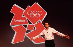 Lord Coe unveils the logo