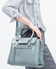 MINI CITY OFFICE BAG-Bags-Woman-SHOES & BAGS | ZARA United States