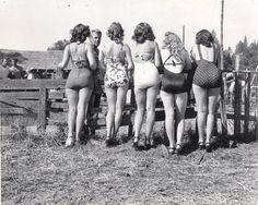 *Former pinups out to pasture :)
