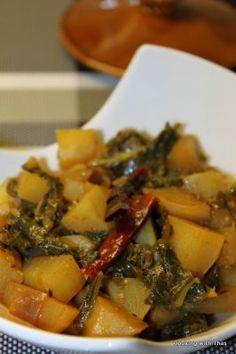Kohlrabi Curry - Recipe Detail - BakeSpace.com