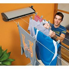 Clothesline Move Inspiration Hills Portable 120 Clothesline A New Clothesline That Folds Flat