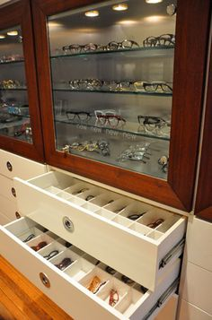 Bruce Eyewear display by Bruce Eyewear, via Flickr